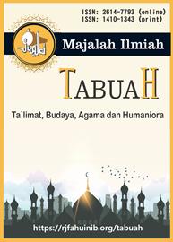 Majalah Ilmiah Tabuah : Ta`limat, Budaya, Agama dan Humaniora